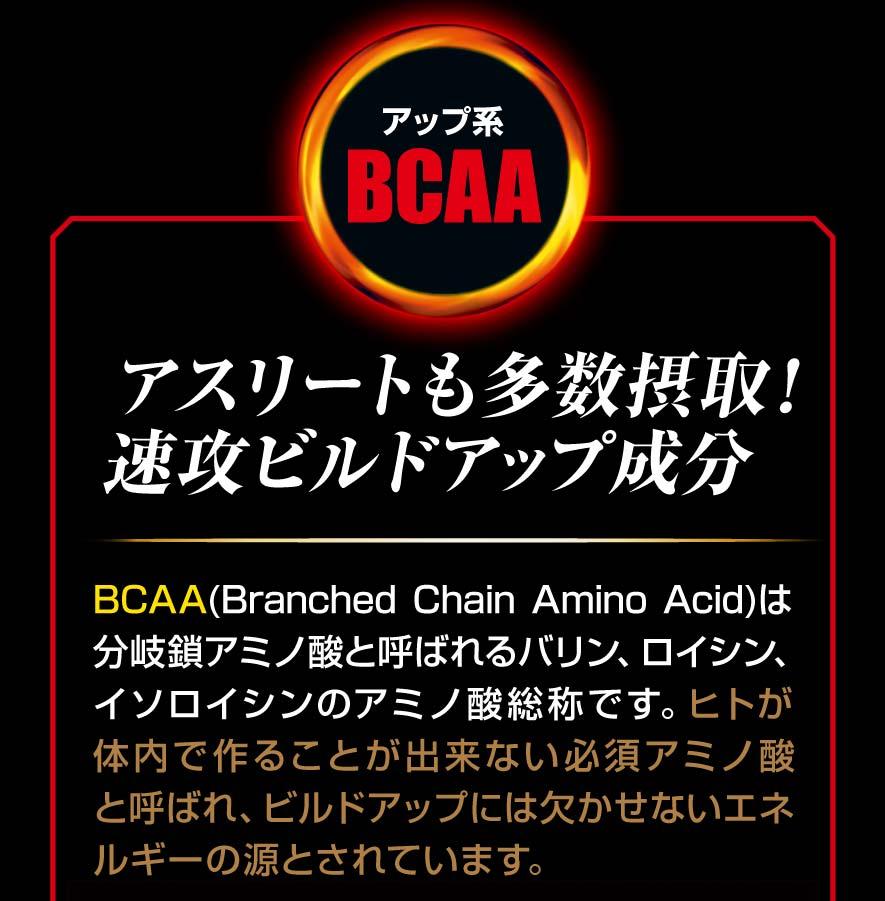 アップ系BCAA アスリートも多数摂取!速攻ビルドアップ成分